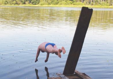 Будьте осторожны, отдыхая на водоемах!