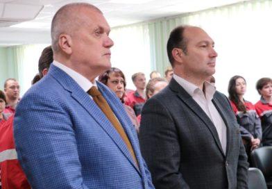 Владимир Кочетков поздравил металлургов ВМЗ