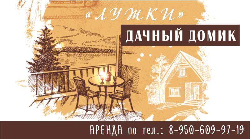 Дачный домик «ЛУЖКИ»