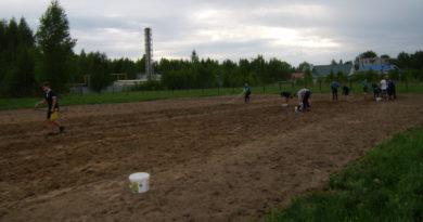 На Дружбе появится новое тренировочное футбольное поле и зрительские трибуны