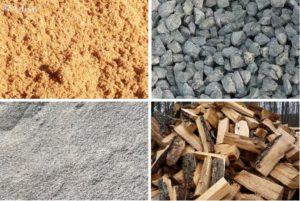 Доставка: навоз, песок, горбыль, отсев, дрова