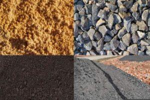 Отсев, песок, шлак, щебень,чернозем, грунт
