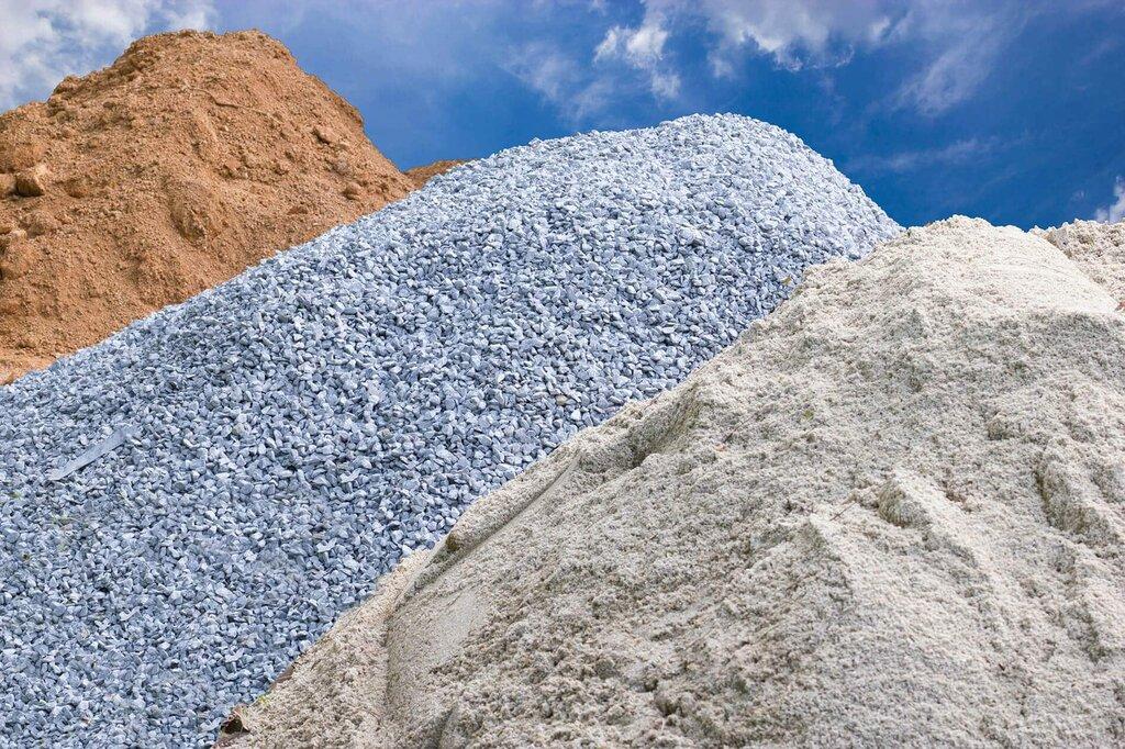 Песок, отсев, щебень