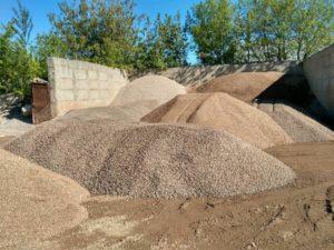 Отсев, песок, щебень бетонный, шлак, грунт, смесь для бетона