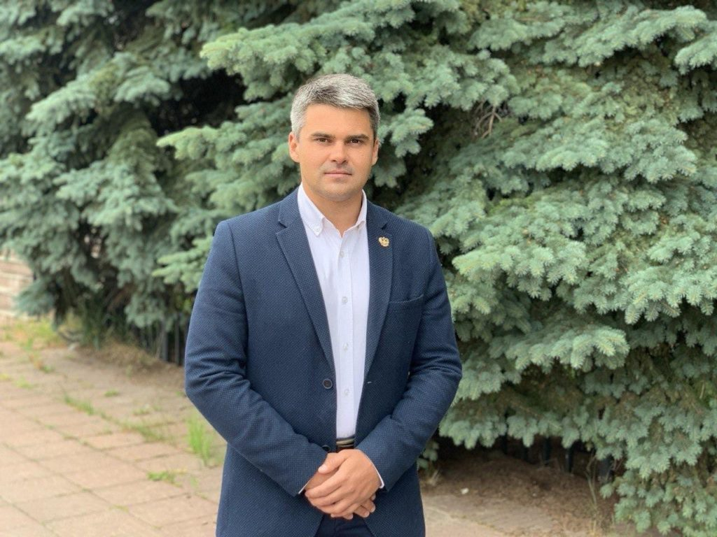 Андрей Нажиганов назначен на должность заместителя главы администрации