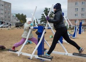 В Мотмосе установят уличные тренажеры