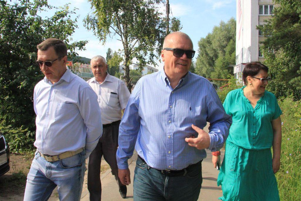 В.В. Кочетков возобновил объезд территории и встречи с жителями Выксы