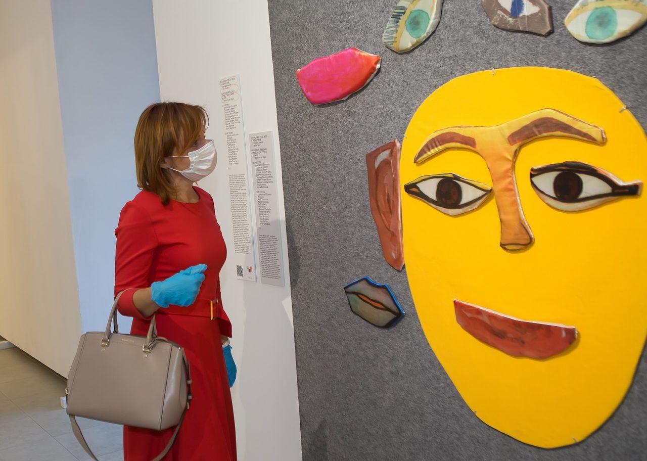 В Выксе открылась инклюзивная выставка «Искусство быть вместе»