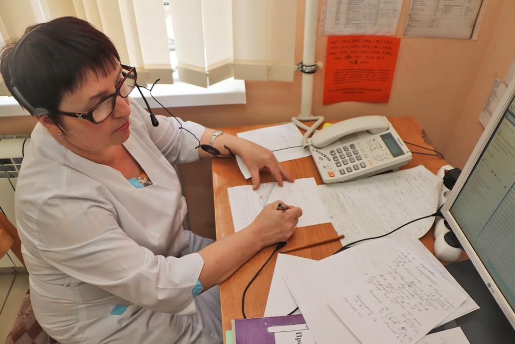 В поликлинике появились новые номера телефонов