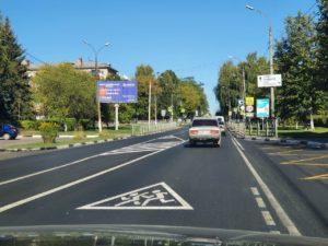 Подъезд к Выксе отремонтировали в рамках национального проекта