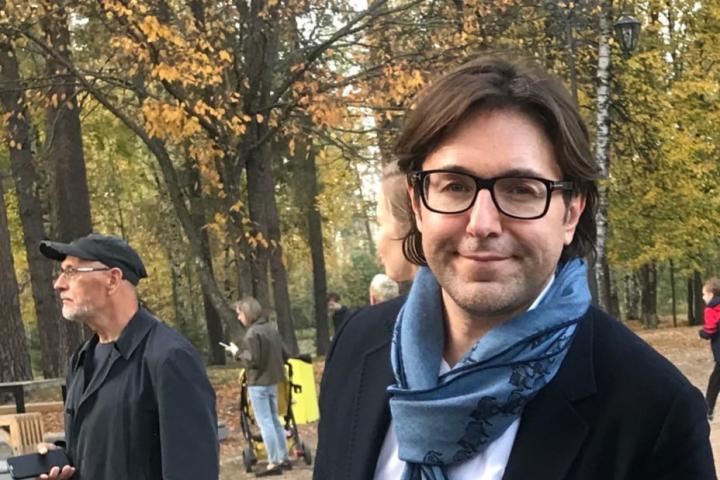 Телеведущий Андрей Малахов приехал в Выксу, чтобы посмотреть открытие арт-объекта 1