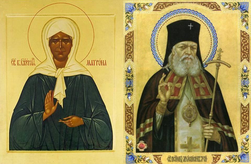 Мощи святителя Луки Крымского и святой блаженной Матроны Московской прибудут в Выксу