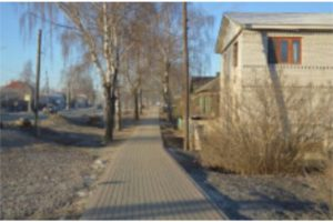 В Выксе по инициативе жителей созданы новые тротуары