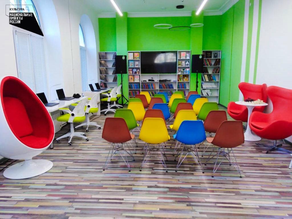 В Выксе создана библиотека нового поколения в рамках нацпроекта «Культура»