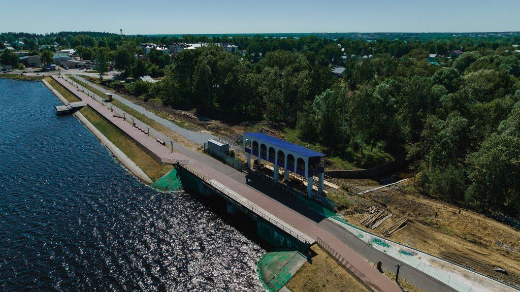 ОМК направила более 30 млн рублей на ремонт исторической плотины Верхне-Выксунского пруда