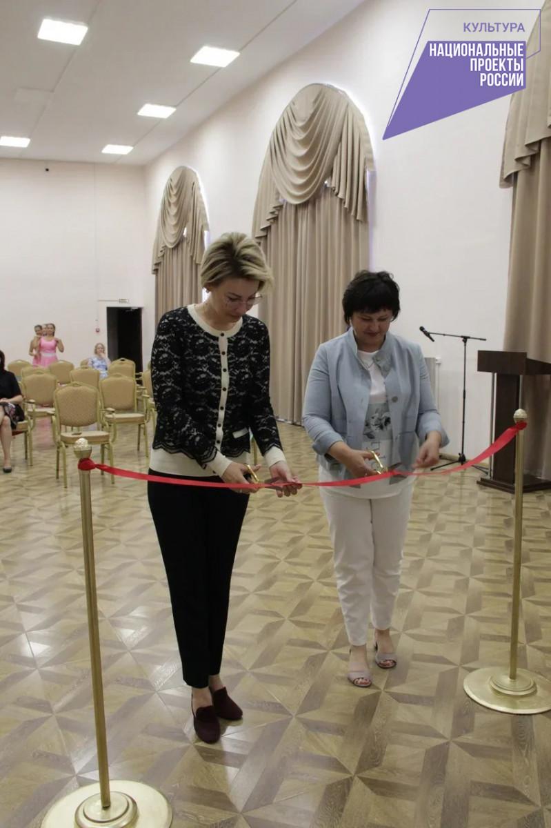 В Навашино открылся виртуальный концертный зал.